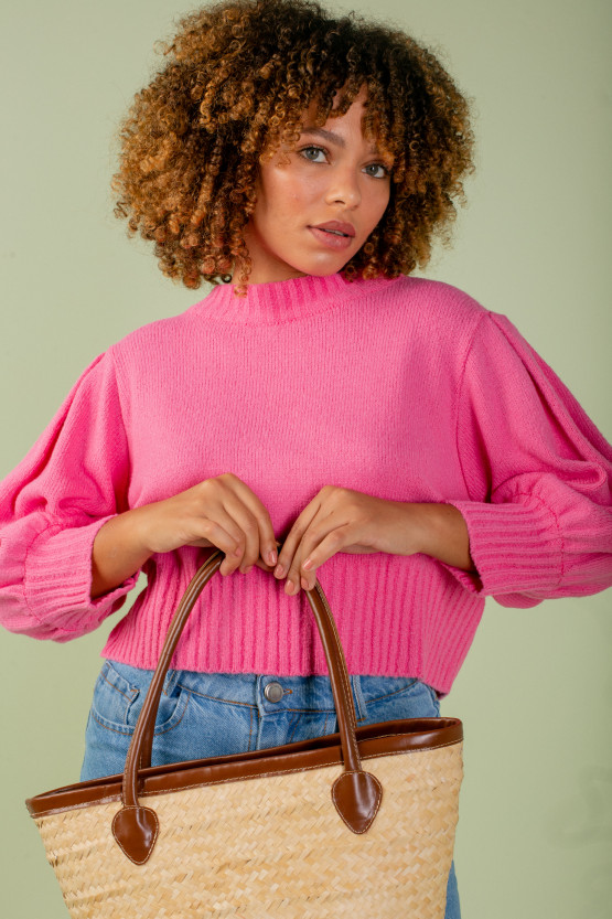 Tricot Bete Rosa